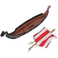 HEEPDD Modelos de Barcos, Resina Embarcación Ornamento Pirata