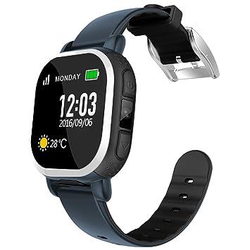 Reloj inteligente Tencent antipérdida para niños con seguimiento por GPS para mayor seguridad: Amazon.es: Electrónica