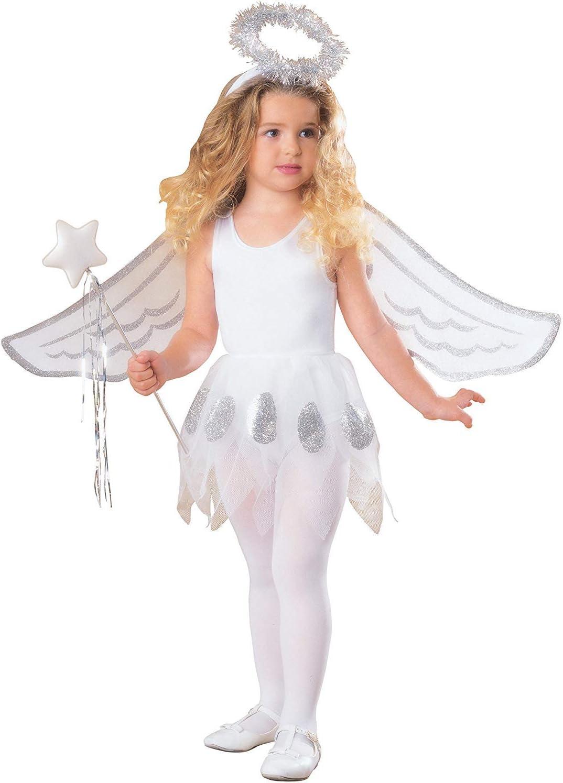 Rubbies - Disfraz de ángel para niña (I-13612): Amazon.es ...