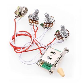 61XOf4aKItL._SY355_ amazon com rocket wiring harness prewired 1 volume 2 tone control 5