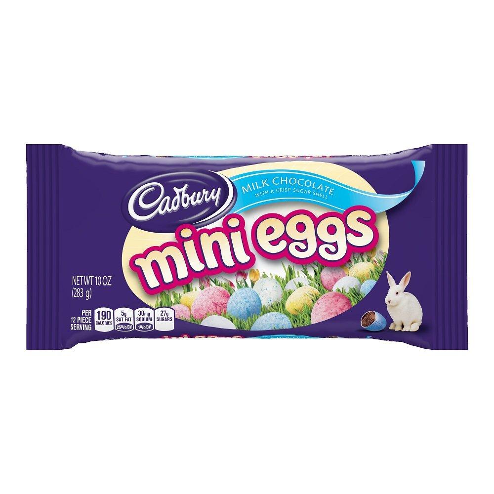 CADBURY Easter Chocolate Candy, Mini Eggs, 10 Ounce (Pack of 4) by Cadbury