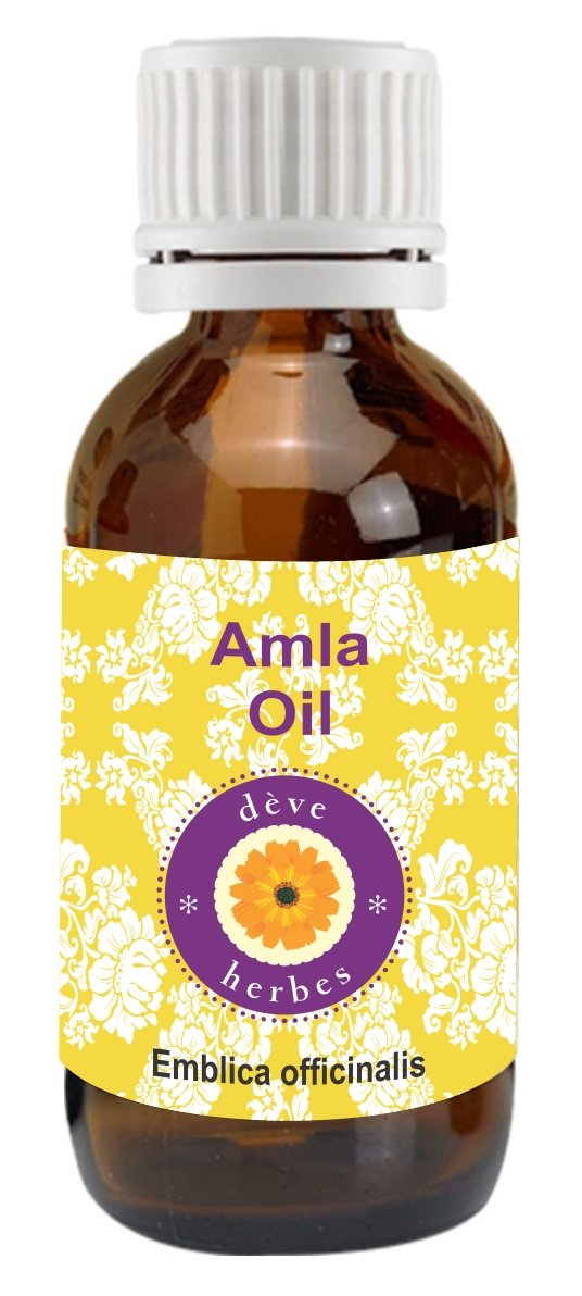 dève herbes Pure Amla Oil (Emblica officinalis) 100% Natural Cold Pressed Therapeutic Grade (5-1250ml) Deve Herbes