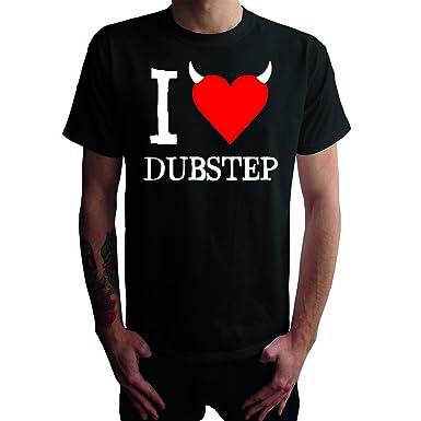 I don't love Dubstep Herren T-Shirt, schwarz, ...