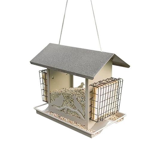 Sungmor MD jardín comedero Colgante para pájaros de Metal Plating ...