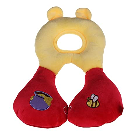 fitTek® Almohada Almohadilla Cervical Pillow Reposacabeza para Bebé