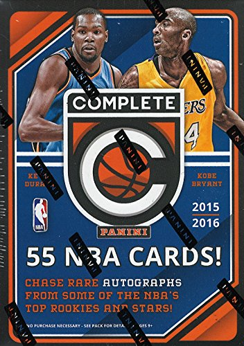 2015 2016 Panini Complete NBA Basketball Series Unopened Blaster Box -