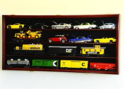 1/24 Scale Die Cast Model 20 Cars Display Case Cabinet 98% UV