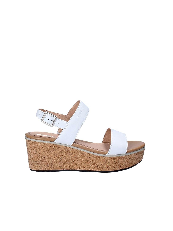 Stonefly Diva 1 Nappa, Zapatos con Plataforma para Mujer 41 EU Blanco