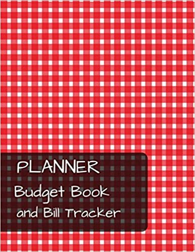 planner budget book and bill tracker with calendar 2018 2019