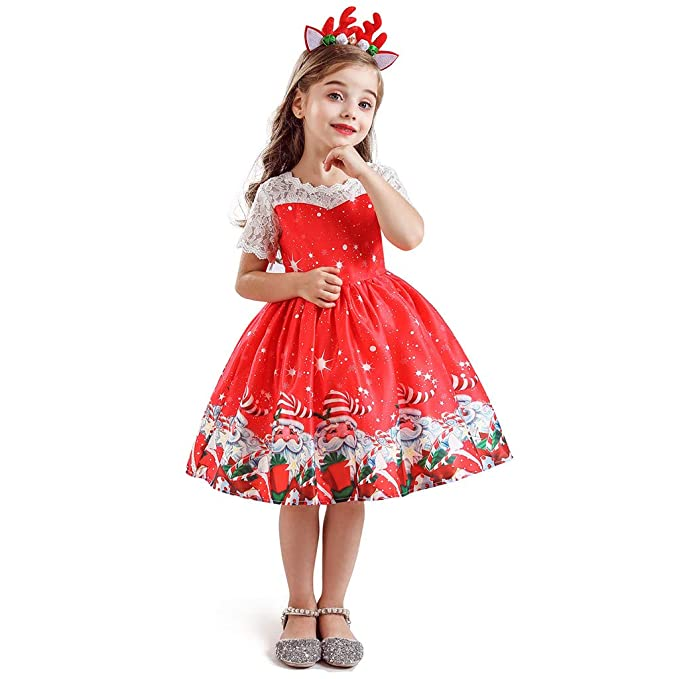 K-Youth Disfraz Vestidos de Fiesta Chica 2-7 años Disfraces ...