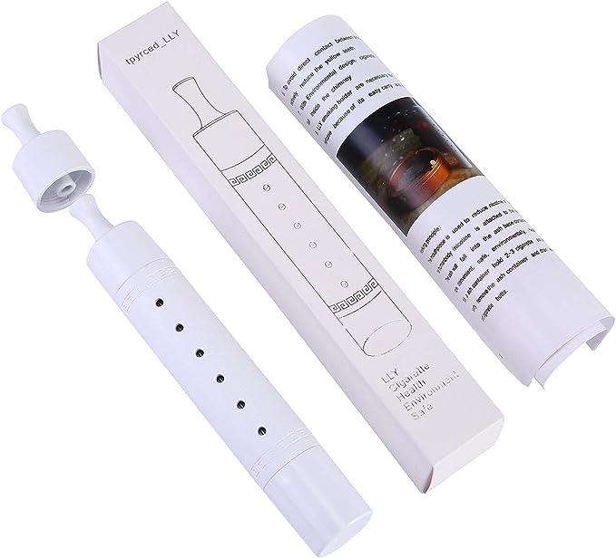 Unisex Mini Auto Sigaretta Holder Fit per Sigarette Misura Normale e Piccoli White posacenere per Interni o Esterni Ambientale Smoking Dispositivo per Giocatori di Gioco AOLVO portasigarette
