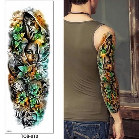 Handaxian Tatuaje de la Manga del Brazo de los Hombres a Prueba de ...