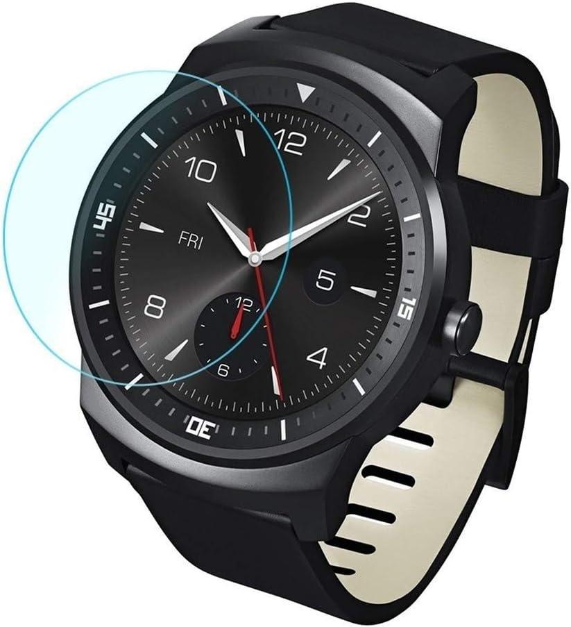 LG G Watch R W110用 0.26mm 2.5D強化ガラスフィルム