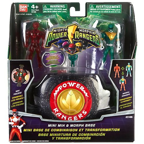 Power Ranger Mighty Morphin Mini Mix and Morph base (Mighty Morphin Power Ranger Helmet)