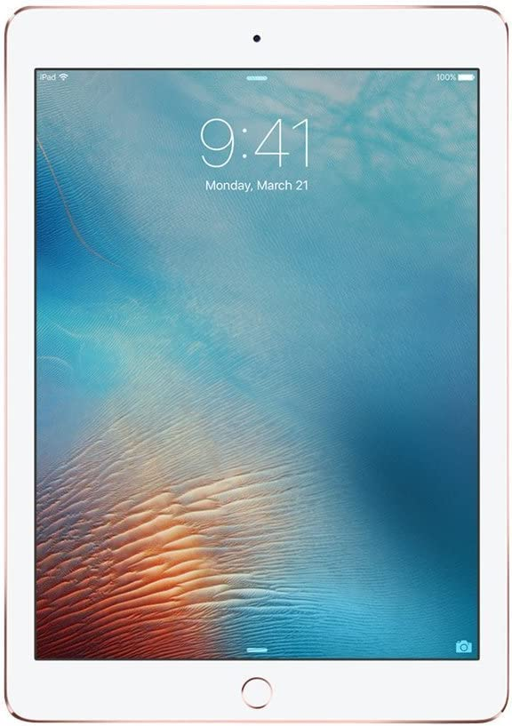 iPad Pro 9.7-inch (128GB, Wi-Fi, Rose Gold) 2016 Model (Renewed)