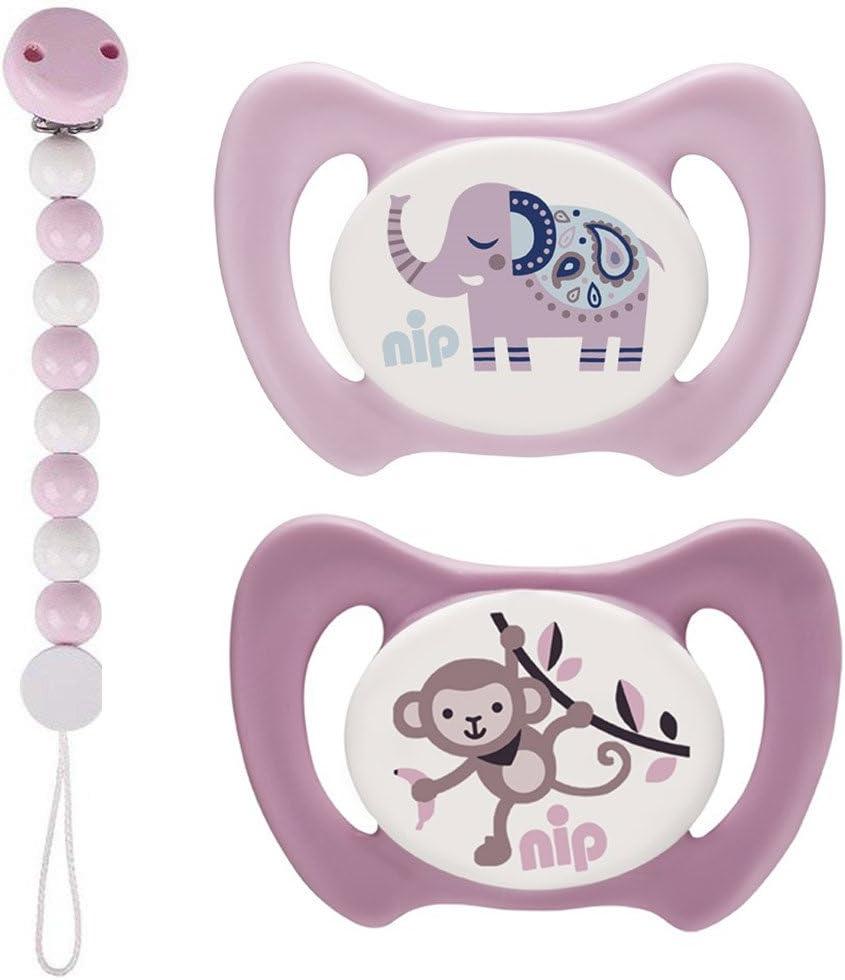 Nip silicona Dental Chupete Miss denti Talla 3, A Partir de 13 ...