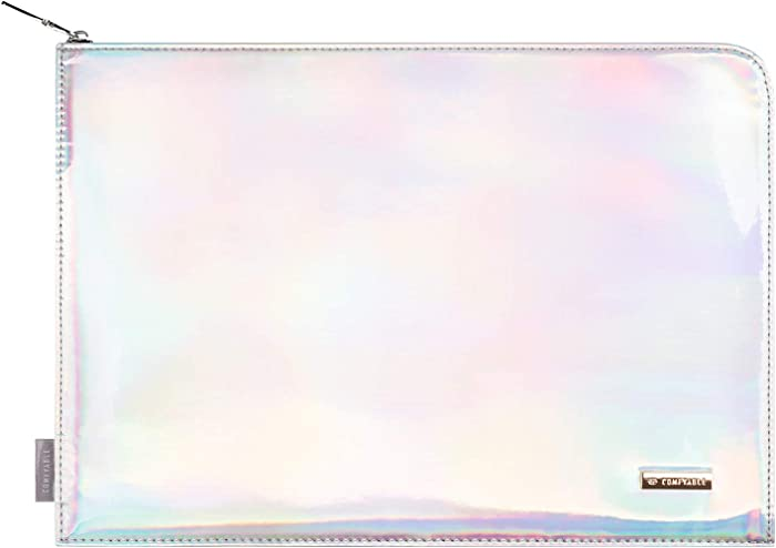 Comfyable Holographic 13 Inch Laptop Sleeve for 13-13.3 Inch MacBook Pro & MacBook Air - Waterproof Iridescent Computer Case