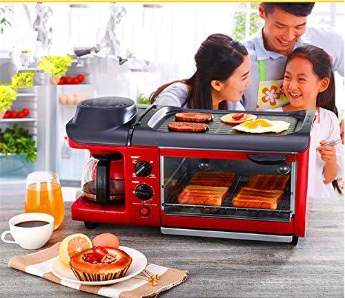 MXBAOHENG máquina de desayuno, Multifunción, 3 en 1, tostadora ...