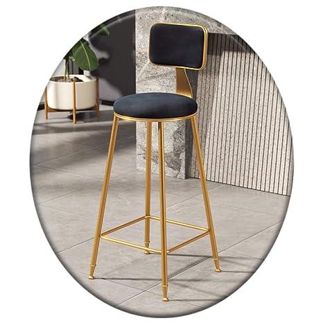 Terrific Amazon Com Contemporary Concise Iron Art High Bar Stool Machost Co Dining Chair Design Ideas Machostcouk