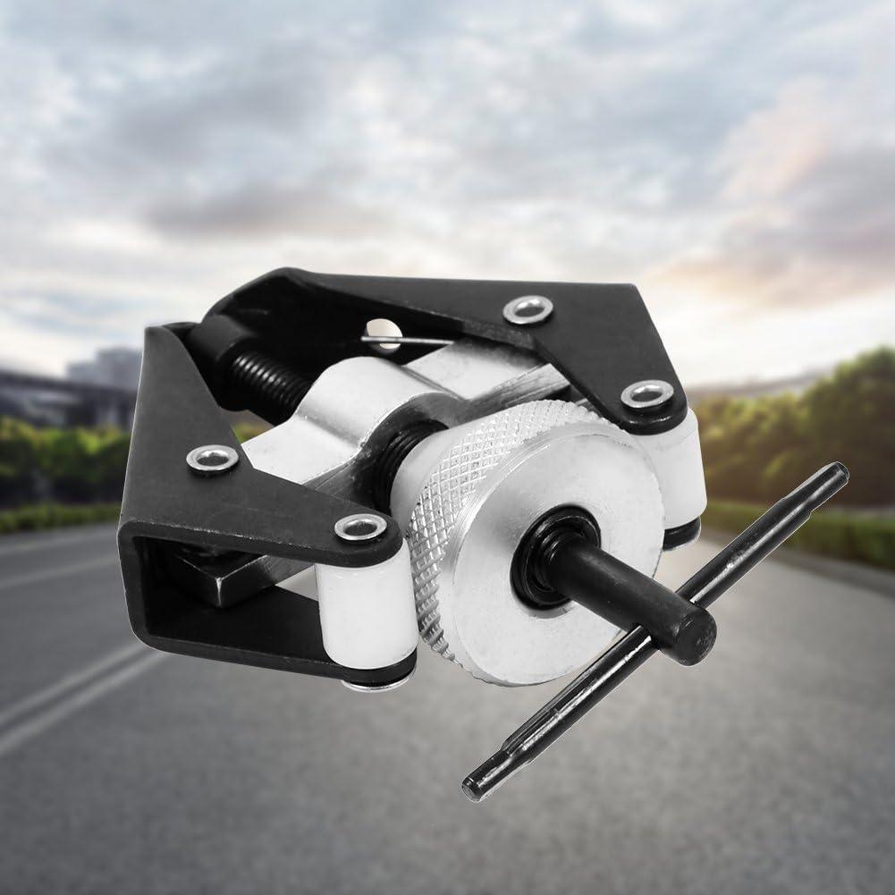 Qiilu Car Wiper Arm Repair Tool Black Car Battery Terminal Bearing Wiper Arm 6-28mm Metal Car Windscreen Repair Tool Remover Puller Silver