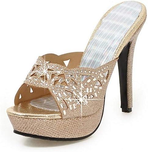 Sandali di Cristallo da Donna GlitterMateriali