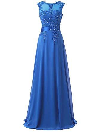 Amazon Belle House Womens Long Chiffon Evening Dresses