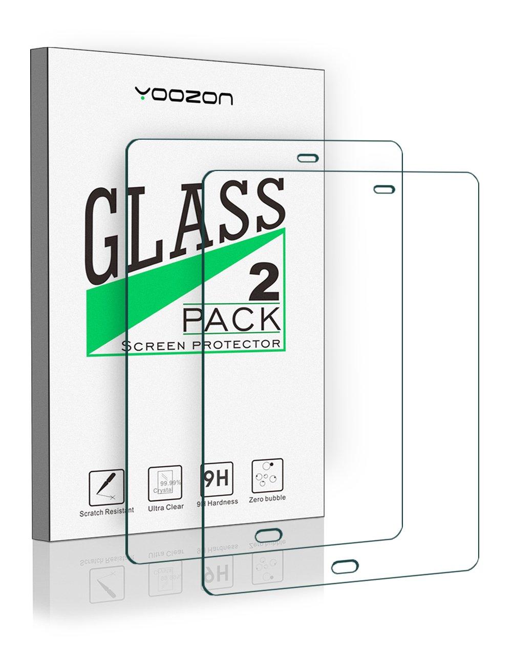 Galaxy Tab S3 Screen Protector [2 Pack],Yoozon Samsung Galaxy Tab S3 9.7 Tempered Glass Screen Protector for Galaxy Tab S3 (9.7 Inch, SM-T820 T825)