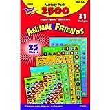Trend Enterprises Superspots & Supershapes Variety Pack, Animal Friends (T-46915)