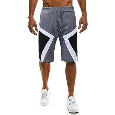78ac72157f4ce2 MOIKA Herren Freizeitshorts, Sommer Herren Jogg Everyday Shorts Sportshorts  Knielang Kurze Hose Shorts Bermuda Herren