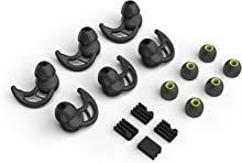 Replacement Silicone Earbuds Tips 3 Pairs, Size M, for Phaiser BHS-730 and other In Ear Headphones Earphones M