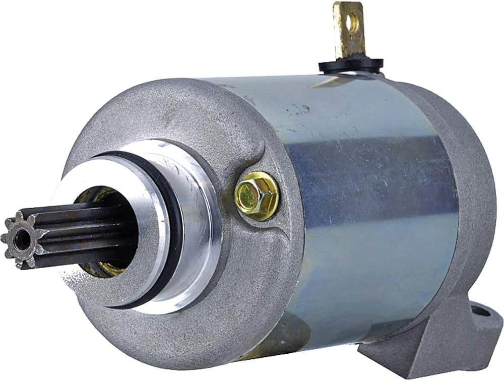 DB Electrical New 410-52612 Motorcycle Starter 636cc Compatible with//Replacement for Kawasaki ZX-6R Ninja ZX636 2003 2004 2005 2006 SMU0332 SND0814 18833 191-348 428000-1270 21163-0006