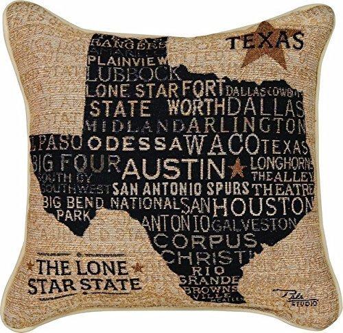 Throw Pillow Case Cushion Cover 45cm45cm O:004 Texas by ()