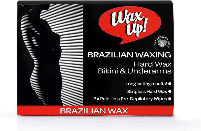 WAX UP - Brazilian Bikini and Underarms Waxing Kit: Amazon.co.uk: Beauty
