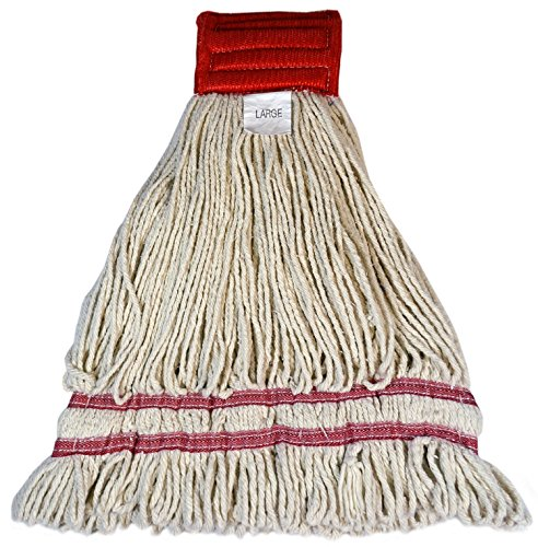 Golden Star AST24LDPS5 Starborne Looped End Wet Mop Pre-Shrunk (Pack of 12) by GoldenStar