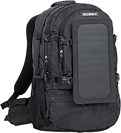 side facing eceen hiking solar backpack