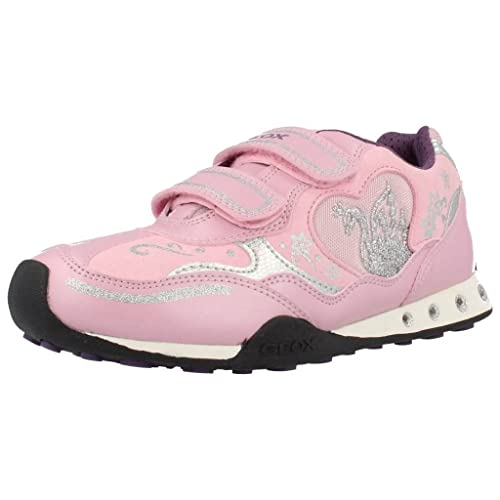 Zapatillas para niï¿œa, color Rosa , marca GEOX, modelo Zapatillas Para Niï¿œa GEOX JR NEW JOCKER B Con Luces! Rosa: Amazon.es: Zapatos y complementos