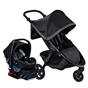 Britax B-Free & B-Safe Ultra Travel System, Pewter (Amazon Exclusive)