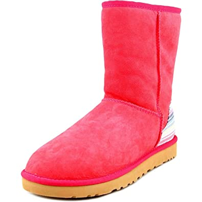 124d9e6b7c068a ... france ugg womens classic short serape sunset red twinface boot 6 b  456c5 c5e0d