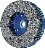 PFERD 84147 M-Brad High Density Composite Disc Brush, Silicon Carbide Grain, 8'' Diameter, 0.045 x 0.090 Rectangular Filament, 1800 rpm, 80 Grit