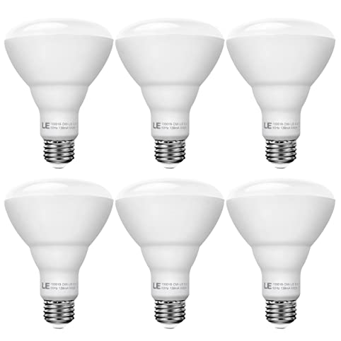 Le 6 pack 15w dimmable br30 e26 led bulbs 100w incandescent le 6 pack 15w dimmable br30 e26 led bulbs 100w incandescent equivalent led recessed aloadofball Gallery