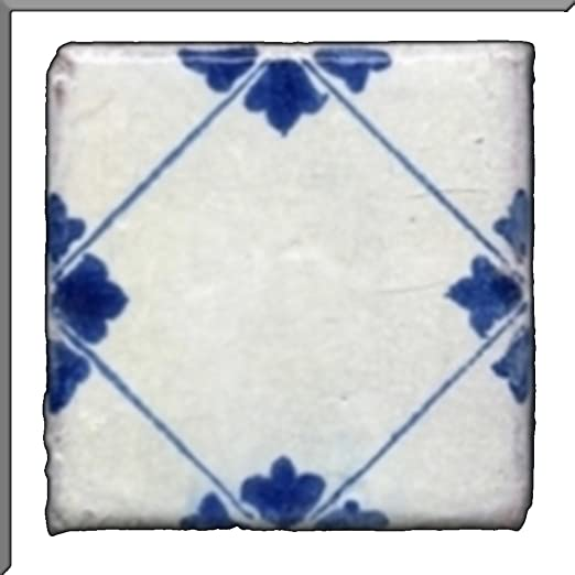 Piastrelle decorate a mano per cucine in muratura\