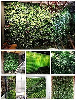TTIK Jardín Vertical Exterior decoración de Plantas para 20 ...
