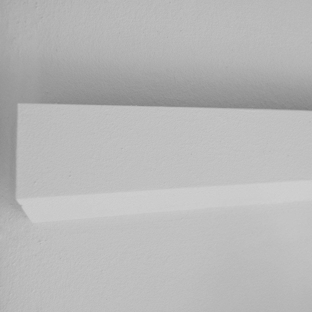 Decoración estuco regleta para cuadrado para led Strips/10 metros: Amazon.es: Iluminación