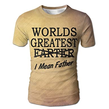 Amazon com: Praygood11 Men's Worlds Greatest Farter I Mean