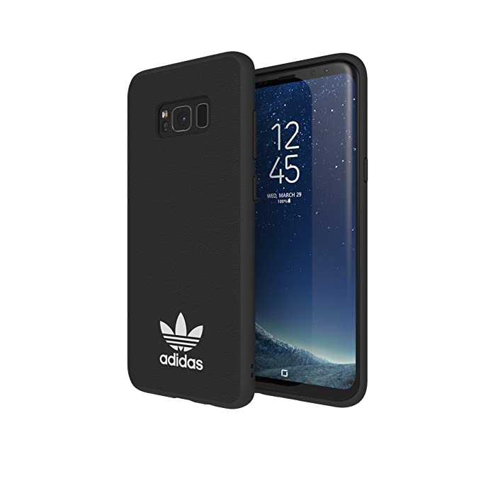 huge selection of efec6 4b763 Adidas Originals TPU Moulded Case for Samsung Galaxy S8/S8 Plus  (Plus-Black/White)
