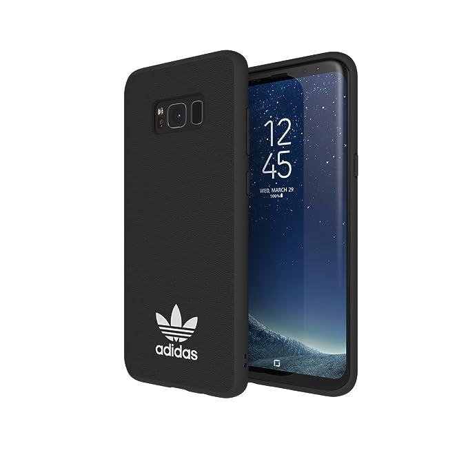 915465ccfa53f Adidas Originals TPU Moulded Case for Samsung Galaxy S8/S8 Plus  (Plus-Black/White)
