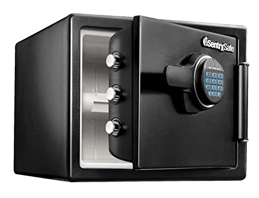 Amazon Sentrysafe Fire Resistant And Water Resistant Safe