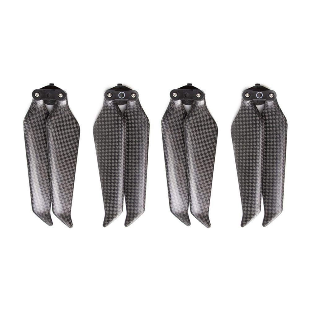 4Pcs 2 Pairs Carbon Fiber 8743F Propellers Blades Low-Noise Quick-Release Foldable New Aerodynamic Design Compatible DJI Mavic 2 Pro//Zoom Accessories Liu Nian