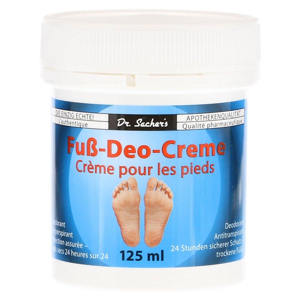 Fuß Deo Creme von Dr. Sachers 125 ml Axisis GmbH 300 087