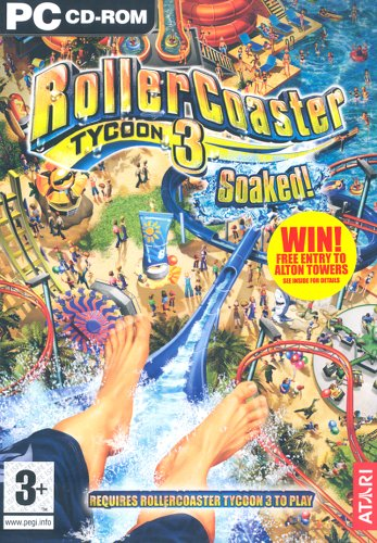 rollercoaster tycoon 3 soaked